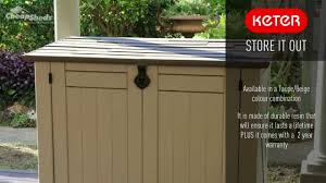 keter store it out storage shed youtube