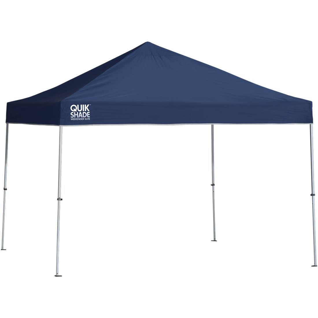 Quik Shade Weekender Elite Straight Leg Instant Canopy - Navy Blue, 10' X 10'