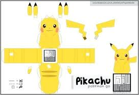Printable Pokemon Papercraft Go Easy To Build Paper Toy By Intended Free