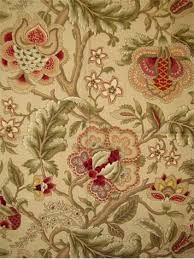 Jacobean Floral Design Curtains by Imperial Dress Tw Gold Wavery Fabric Traditional Jacobean Floral