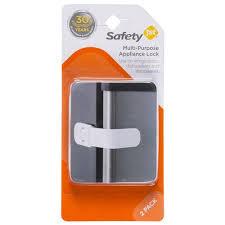 Child Proof Cabinet Locks Walmart by Safety 1st Multi Purpose Appliance Lock 2 Ct Walmart Com