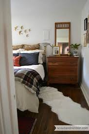 Just Rotating The Bed Gives A Bedroom Completely New Feel Subtle Wall Decorations Like
