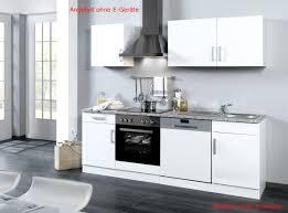 küchenzeile ohne geräte einbauküche ohne elektrogeräte 220