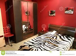 chambre zebre et chambre à coucher de de piste photo stock image du amour