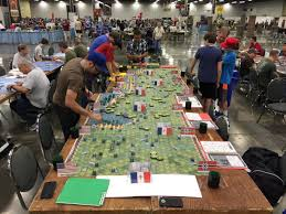 Heavy Cardboard On Twitter The Coolest Game Ive Seen Table Entire Normandy Invasion In Form Of Memoir 44 By Days Wonder Card