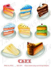 Lemon Cake Slices Clipart 1