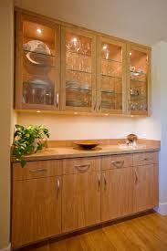 Dining Room With Built In Sideboard Modern