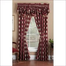 Lace Priscilla Curtains With Attached Valance by Living Room Shower Curtains Curtain Ideas Short Ruffle Curtains