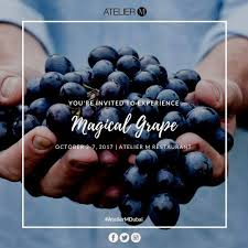 100 Atelier M On Twitter Enjoy Agical Grape Event From Oct 2 To Oct