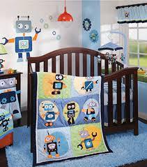 robot themed nursery
