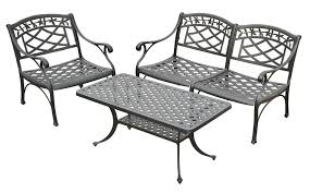 Crosley Outdoor Sedona Five Piece Cast Aluminum Outdoor ... Outdoor Chairs Set Of 2 Black Cast Alinum Patio Ding Swivel Arm Chair New Elisabeth Cast Alinum Outdoor Patio 9pc Set 8ding Details About Oakland Living Victoria Aged Marumi In 2019 Armchair Cologne Set Gold Palm Tree Outdoor Chairs Theradmmycom Allinum Fniture A Guide Alinium Rst Brands Astoria Club With Lawn Garden Stools Bar Modway