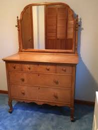 Birdseye Maple Highboy Dresser by Antique Rare Birdseye Maple Bedroom Dresser With Mirror Arcadia
