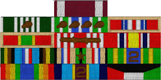 Ribbon Rack Patch [RRP01] Military Polo Shirts You Served the