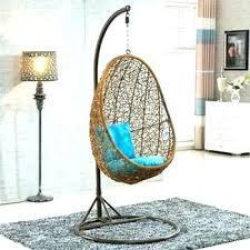Round Swing Chair Hanging Nest Rattan Bird Outdoor Garden Furniture Indoor Wicker Egg Hammock Low Sweet