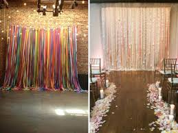 Wedding Wall Decoration Ideas Rustic Decorations Best Images On Backdrop Concept