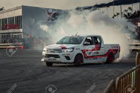 100 Toyota Drift Truck October 18 2015 Hilux Revo Perform Ing Contest Stock