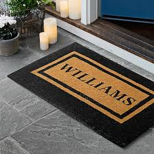 Personalized Double Border Doormat