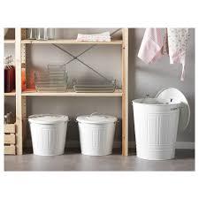 knodd bin with lid white ikea ikea papiertonne deckel