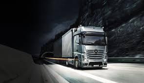 100 New Mercedes Truck Daimlers SelfDriving Has A Successful First Trip Petroleum