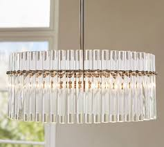Pottery Barn Bedroom Ceiling Lights by Gretta Crystal Chandelier Pottery Barn Light It Up Pinterest