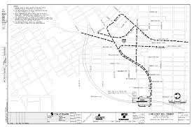 Sound Transit's Map Of Truck Routes For Moving Tunnel Muck From The ...