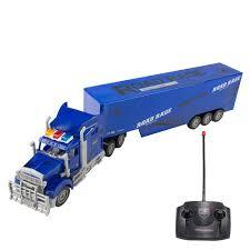 100 Remote Control Semi Truck With Trailer Radio Transporter Big Rig Super Duty