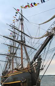 Hms Bounty Tall Ship Sinking by Grateful After Sandy