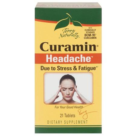 Terry Naturally Curamed Headache Tablets - 21pk