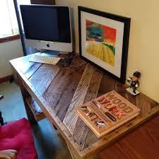 Best 25 Pallet desk ideas on Pinterest