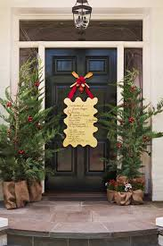 Outdoor Christmas Decorating Ideas Front Porch by 56 Stunning Christmas Front Door Décor Ideas Family Holiday Net