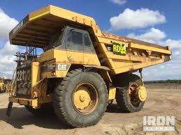 100 End Dump Truck Used 2000 Caterpillar 777D Haul In YATALA QLD Price 210000