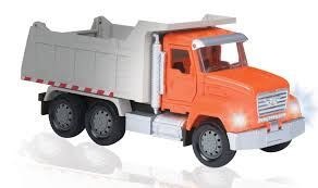 Mini Dump Truck With Lights, Sound And Tipper From Driven