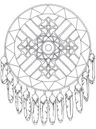 Native American Mandalas 7