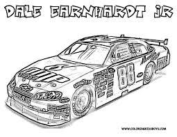Nascar Coloring Pages Dale Earnhardt Jr