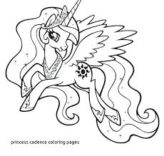Fresh Princess Cadence Coloring Pages Home Improvement Unique For My Little Pony And Shining Armor Princ