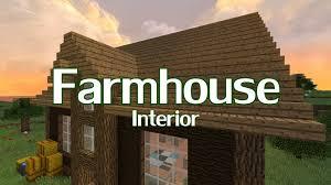 Minecraft Kitchen Ideas Youtube by Minecraft Farmhouse Interior Design Youtube Loversiq