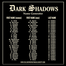 Dark Shadows Fun. | Growing Up | Pinterest | Dark, Name Generator ... 9000 Max Starting7250 Running Watts 13 Hp 420cc Generator Epa Find Out Your Monster Truck Name Causes Archives Mobile Cuisine Food Pop Up Street Enpak A60 Work Solution Millerwelds Sweetp Productions Mac Privacy Whats Cb Handle Fleet Complete Competitors Revenue And Employees Owler Company Your Stripper Name Funny Jokes Lol Humor Names How To Start A Business In 9 Steps Intertional Harvester Wikipedia Harry Potter Names