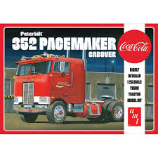 AMT1090 AMT Coca Cola Peterbilt 352 Pacemaker Cabover Truck Tractor ...