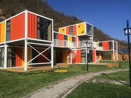 100 Prefab Container Houses Orange Ricated Shipping Homes For Flatpack Office