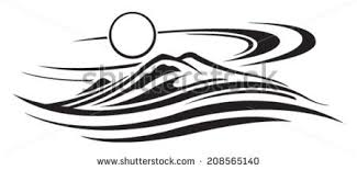 Mountain Stock Vector Royalty Free 208565140