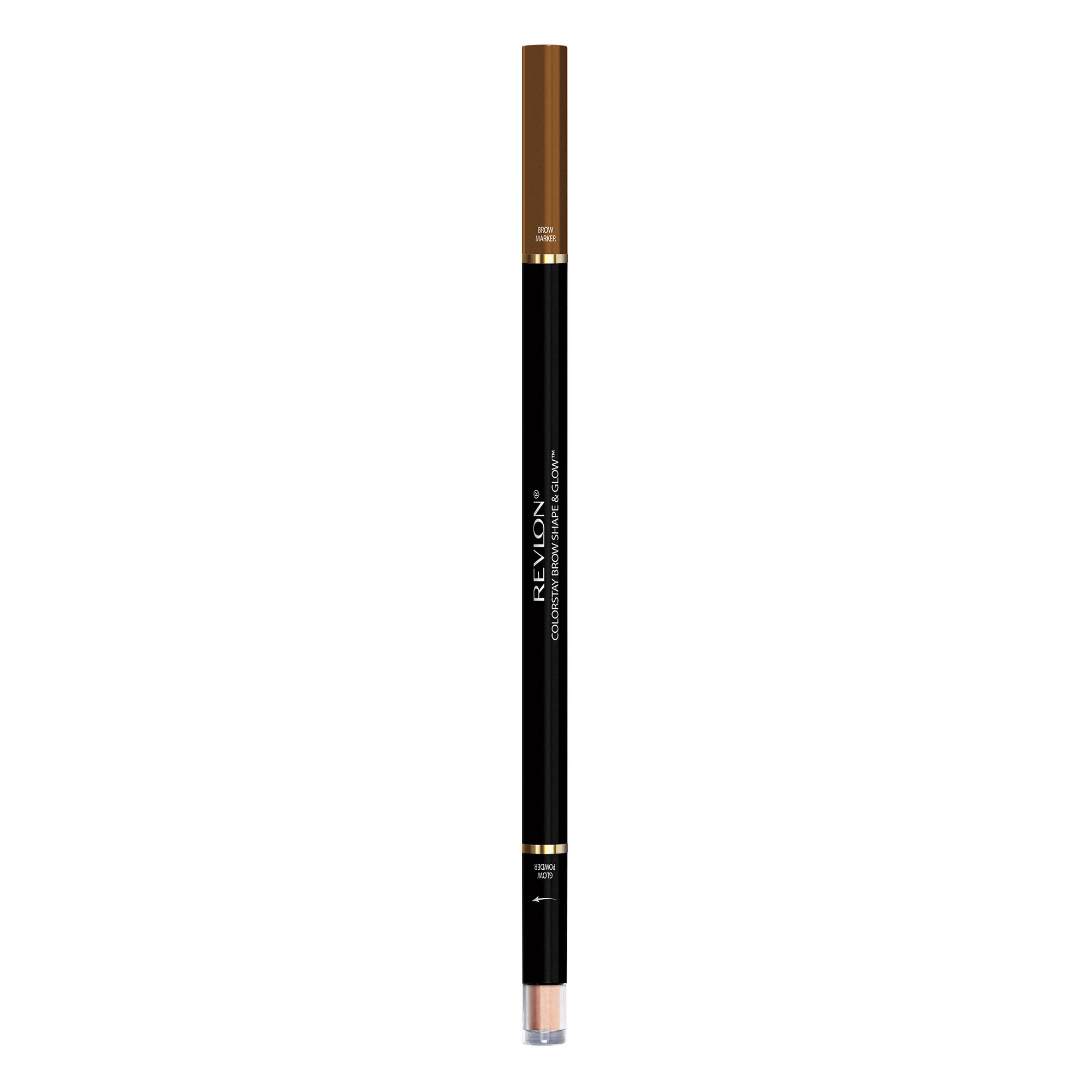 Revlon Colorstay Shape & Glow Eye Brow Marker and Highlighter - Soft Brown, 0.02oz