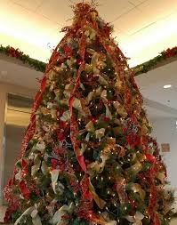 How To Decorate A Christmas Tree With Ribbon Vertically Decoration Ideas Decorating Slideshow 1