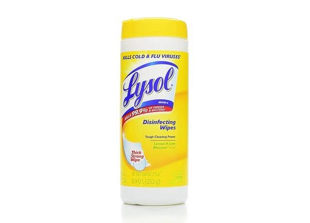 Lysol Disinfecting Wipes - Lemon & Lime Blossom Scent