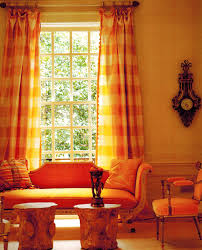 Burnt Orange Kitchen Curtains Decorating Inspirations With