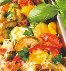 gratin de légumes du midi recettes de legumes pates riz