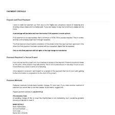 Freelance Quote Template Writing Proposal Crugnalebakeryco