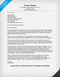 Flight Attendant Cover Letter Sample & Helpful Tips