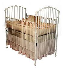 Antique Masterpiece Iron Baby Crib Antique Cribs