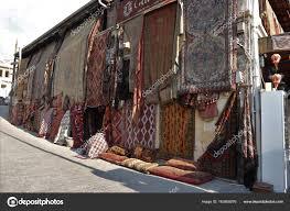 22Nd July 2017 Goreme Turkey Old Traditional Turkish Carpet Shop Stock Photo