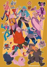 Personalities Swapped All Over The Place This Is Pretty Much Undertale But Everyone Has